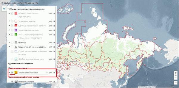 Как найти незанятый земельный участок на кадастровой карте