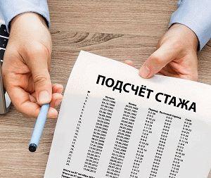 Минимальный стаж для начисления пенсии с 2019 года в России, таблица по годам